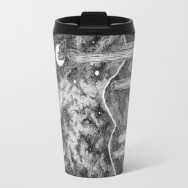 Desert Night Owl Blk Travel Mug