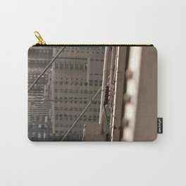 Geometric City Carry-All Pouch