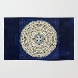 Sacred Geometry Mandala: Introspection Rug