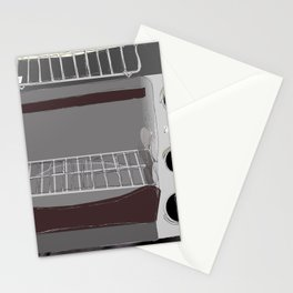 Toster Oven In Progress Stationery Cards