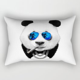 Cool Panda Rectangular Pillow