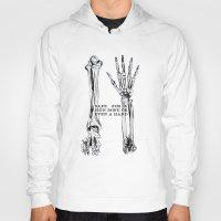 bones Hoodies featuring bones by madbiffymorghulis