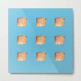 Crackers Pattern Metal Print