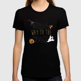 Witch way to the boos? T-shirt