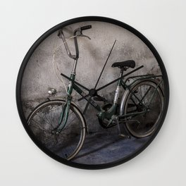 old bicycle 2 Wall Clock