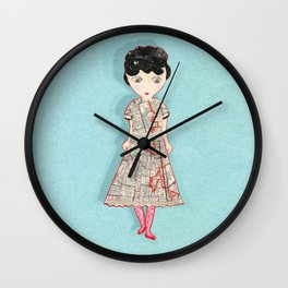 Lost Angeles  Wall Clock