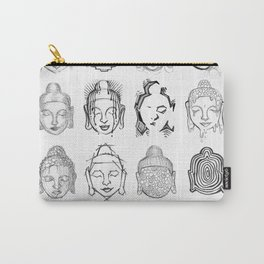 Many Buddhas Carry-All Pouch