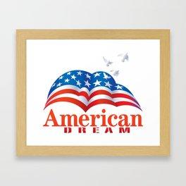 American Dream Framed Art Print