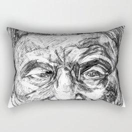 Takeshi Kitano Rectangular Pillow