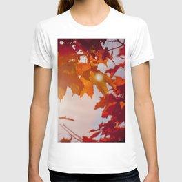 Red Autumn T-shirt