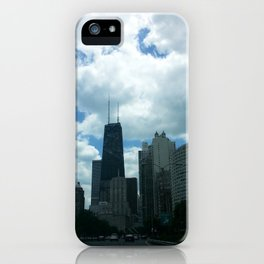 John Hancock Building Lakeshore Drive iPhone Case