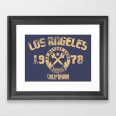 Los Angeles, California Framed Art Print