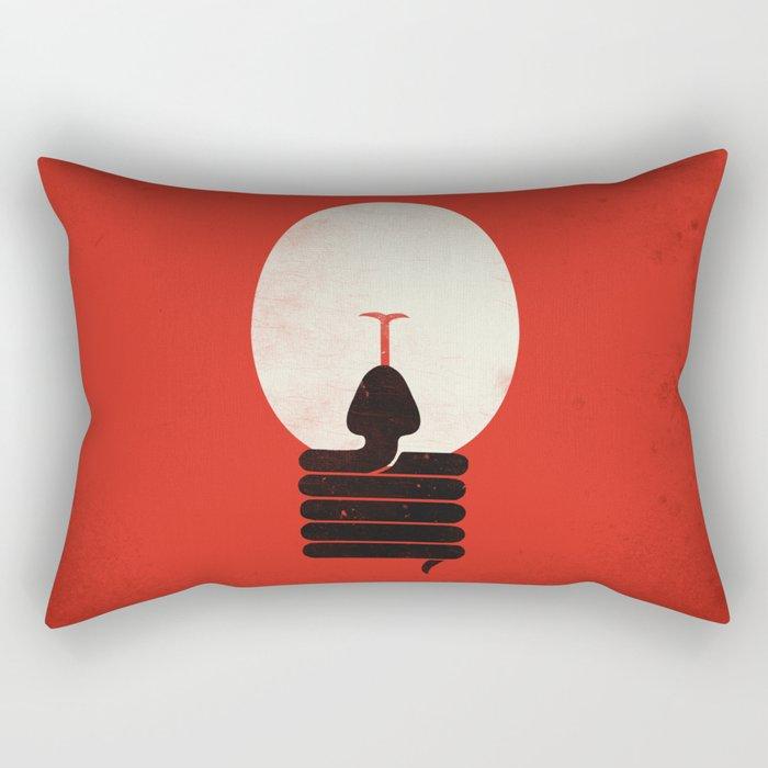 The Idea Eater Rectangular Pillow