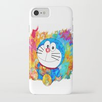 doraemon iPhone & iPod Cases featuring Doraemon by ururuty