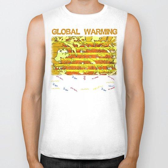 Global Warming Biker Tank