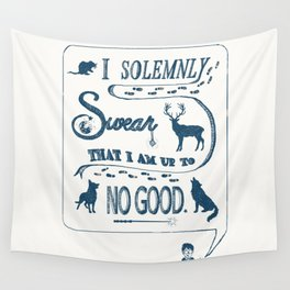 I Solemnly Swear... Wall Tapestry