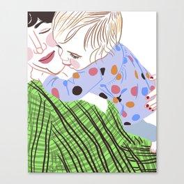 Neck Hugs Canvas Print