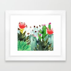 A Prickly Bunch III Framed Art Print