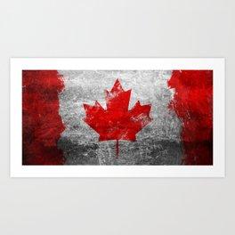 Canada Flag Art Print