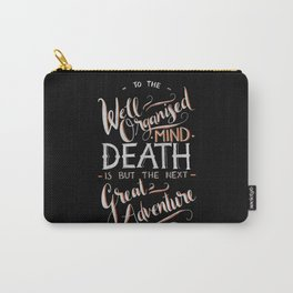 Well Organised Mind - Black Carry-All Pouch