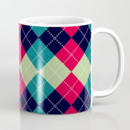 Argyle pattern Coffee Mug