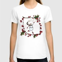 snowman T-shirts featuring Snowman by MadTee