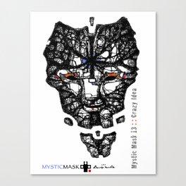 Mystic Mask 13 Canvas Print