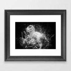 DinoLand I Framed Art Print