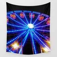 carnival Wall Tapestries featuring Carnival by Catherine Donato