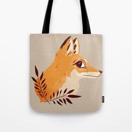 Fox Familiar Tote Bag