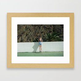 Don't go There, It's a Trap Framed Art Print