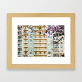 Downtown Lisbon Framed Art Print