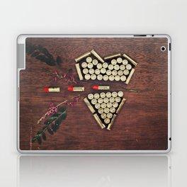 Bullet through the heart Laptop & iPad Skin