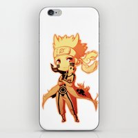 naruto iPhone & iPod Skins featuring Naruto  by WTFmoments
