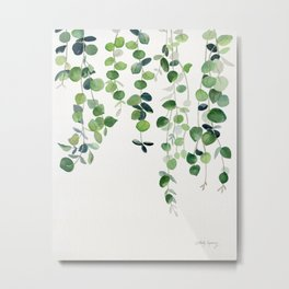 Eucalyptus Watercolor 2  Metal Print