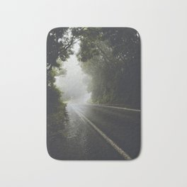 Foggy Road Bath Mat