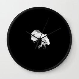Jelly Love Black Wall Clock