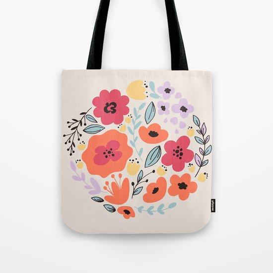 Fantay Flowers Tote Bag