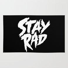 Stay Rad (on Black) Rug