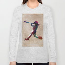 Baseball player 10 #baseball #sport Long Sleeve T-shirt