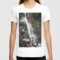 waterfall T-shirts featuring Waterfall by Four Hands Art