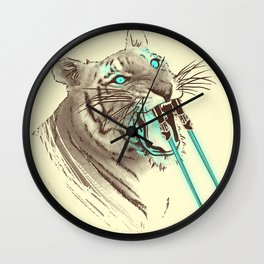 Saber-toothed Tiger Wall Clock