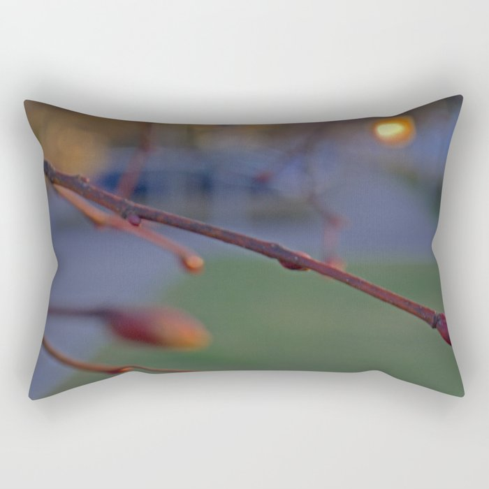 buds on a Tree Rectangular Pillow