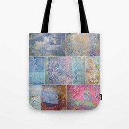 Collage monoprints Tote Bag