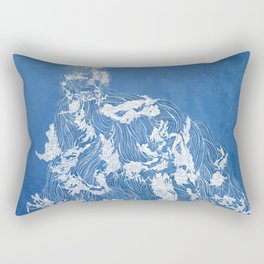 Thief of the waves Rectangular Pillow