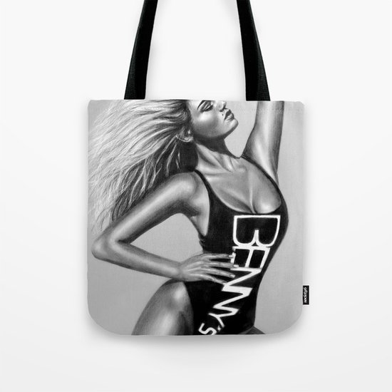 + IT MAY BE A GLAMOUR LIFE + Tote Bag