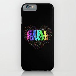 girl power! iPhone Case