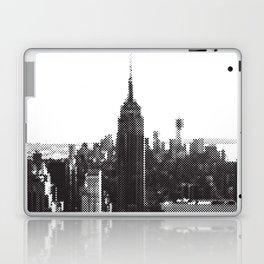 Halftone New York Skyline Laptop & iPad Skin