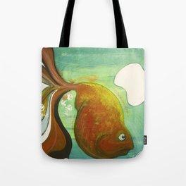 Heavy fish Tote Bag