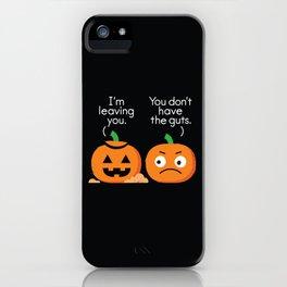 Gourd Riddance iPhone Case